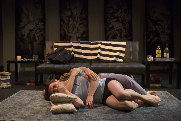 Photo Flash: First Look at Jeffrey Hayenga and Michael Raver in FIRE ON BABYLON at Fresh Fruit Festival