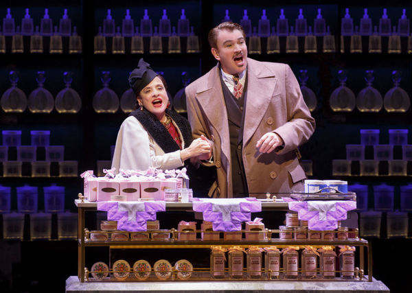 Patti LuPone and Douglas Sills