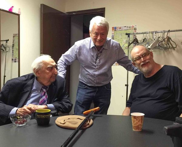 Fyvush FInkel, Stephen Sorokoff, William Finn
