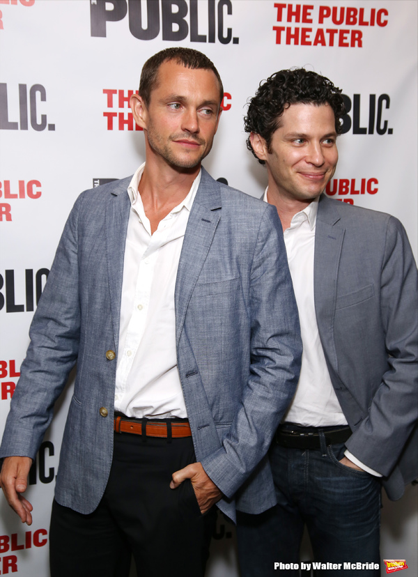 Hugh Dancy and Thomas Kail