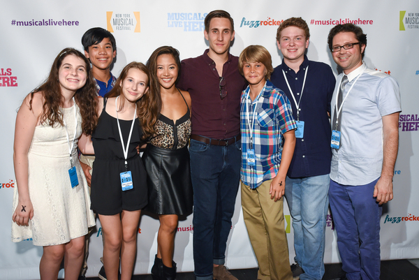 Beatrice Tulchin, James Ignacio, Sophia Gennusa, Gia Asperas, John Krause, Jamie Mann, Mitchell Sink and Adam Spiegel, the company of CAMP ROLLING HILLS.