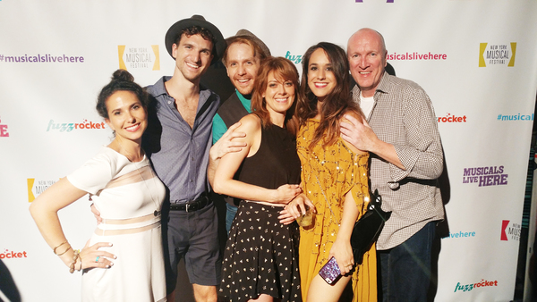 Emily Kron, Steven Grant Douglas, Mick Bleyer, Karis Danish, Kalli Siringis and Kevin B. McGlynn, the cast of THE GOLD.