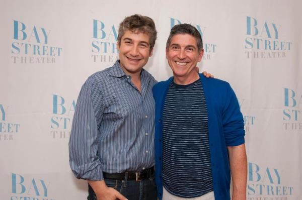 Scott Schwartz and James Lecesne