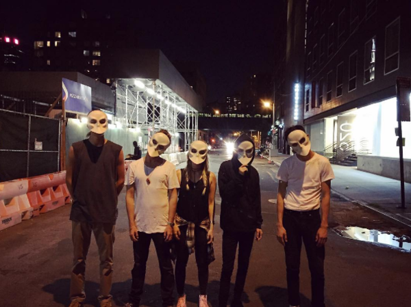 Photo Flash: Aaron Paul and Friends Turn SLEEP NO MORE Into Scene From MR. ROBOT