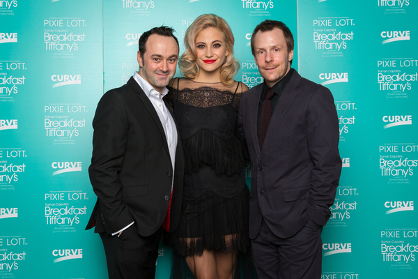 Chris Stafford, Pixie Lott and Nikolai Foster