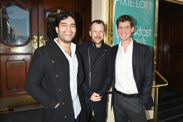 Charlie De Melo, Nikolai Foster and Matt Barber