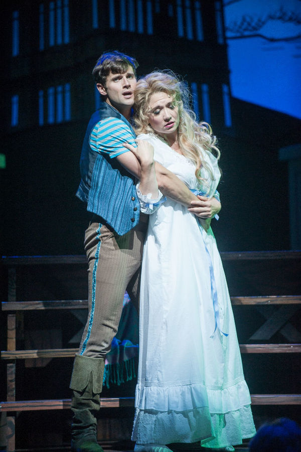 Kyle Dean Massey and Scarlett Strallen