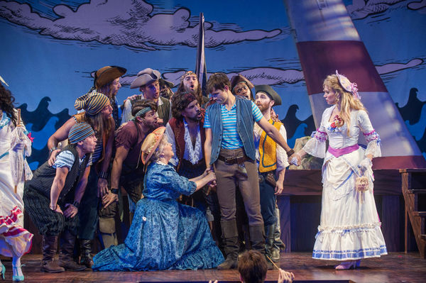 Jane Carr, Will Swenson, Kyle Dean Massey, Scarlett Strallen and Company Photo
