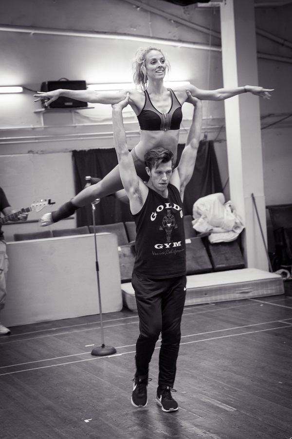 Lewis Griffiths & Carlie Milner Photo