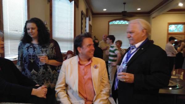 Suzanne Spooner-Faulk, Jonathan Pinkerton and Larry Keeton Photo