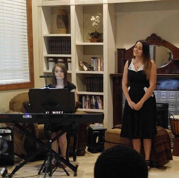 Kelsi Fulton and Ashley Wolfe