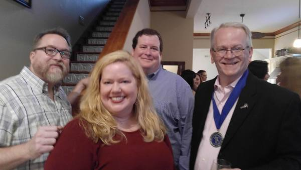 Samuel Whited, Rachel Agee, John Mauldin and Jeffrey Ellis