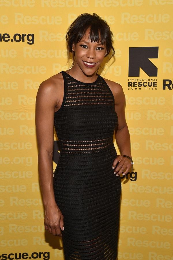 Actress Nikki M. James
