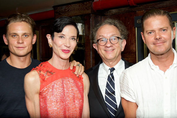 Billy Magnussen, Amy Fine Collins, William Ivey Long, Clarke Thorell Photo