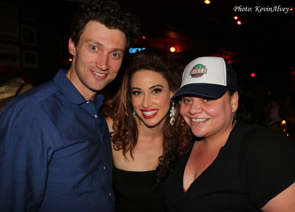 Bryce Pinkham, Lesli Margherita and Keala Settle