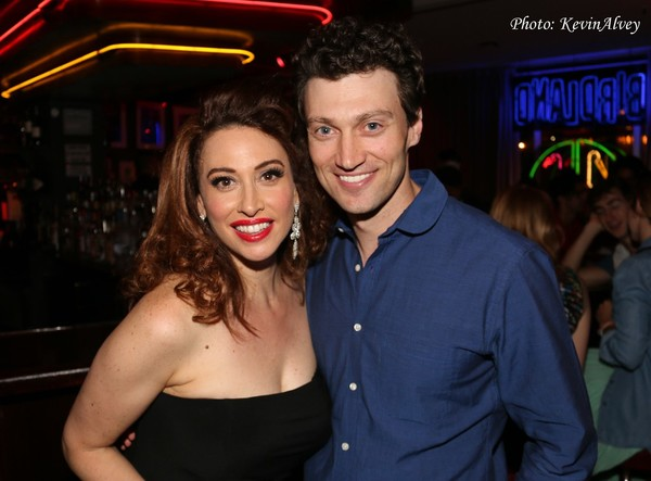 Lesli Margherita and Bryce Pinkham
