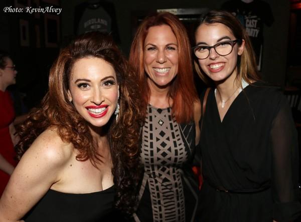Lesli Margherita, Victoria Shaw and Ruby Locknar