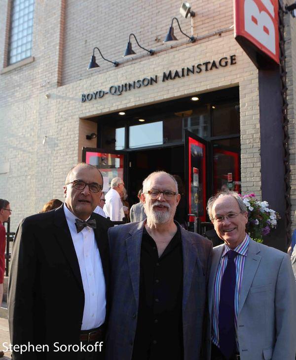 Arthur Salvadore, William Finn, Norman Boyd
