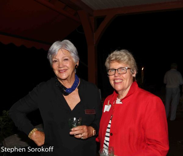 Mary Ann Quinson, Board Chair & Rosita Sarnoff
