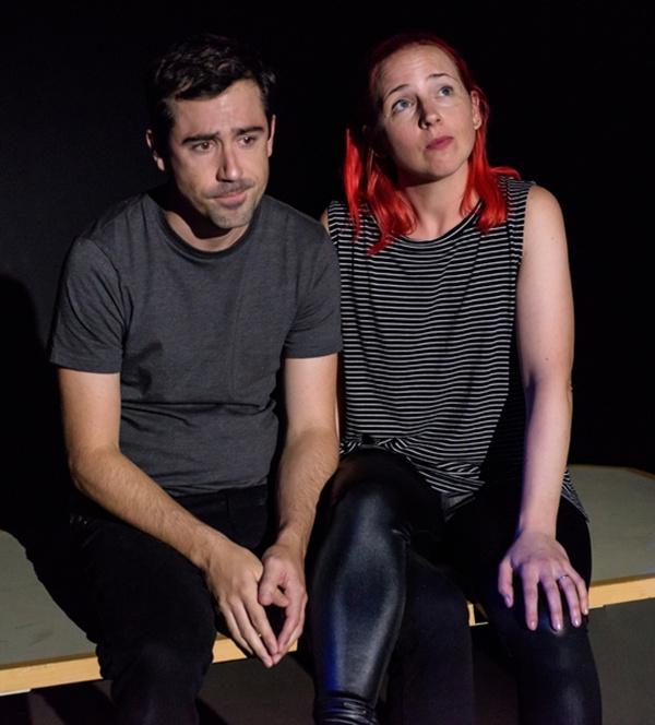 Alex Teachy and Alicia Goranson