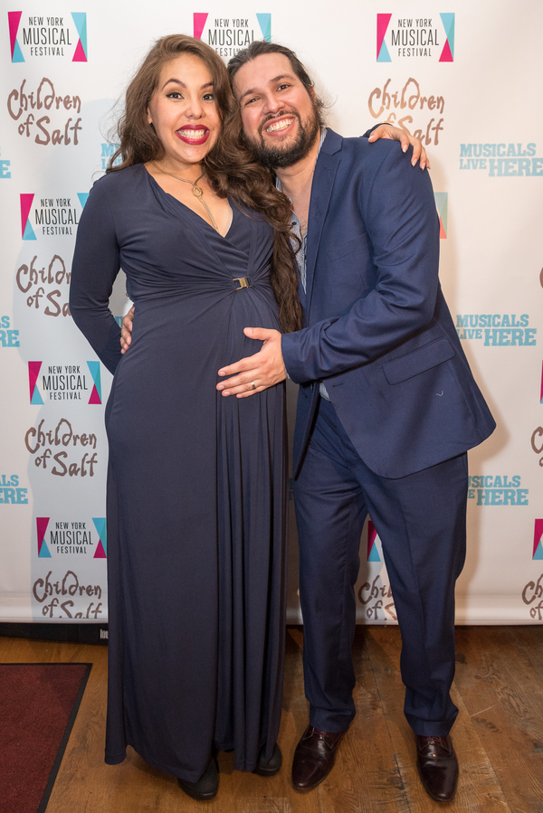 Florencia Cuenca and Jaime Lozano Photo