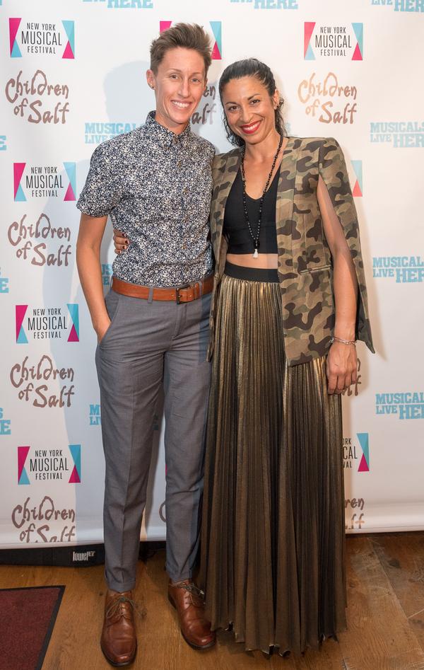 Photo Flash: Jaime Lozano and Lauren Epsenhart's CHILDREN OF SALT Opens at NYMF