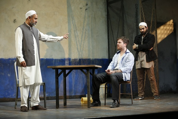 Photo Flash: First Look at THE INVISIBLE HAND at Westport Country Playhouse
