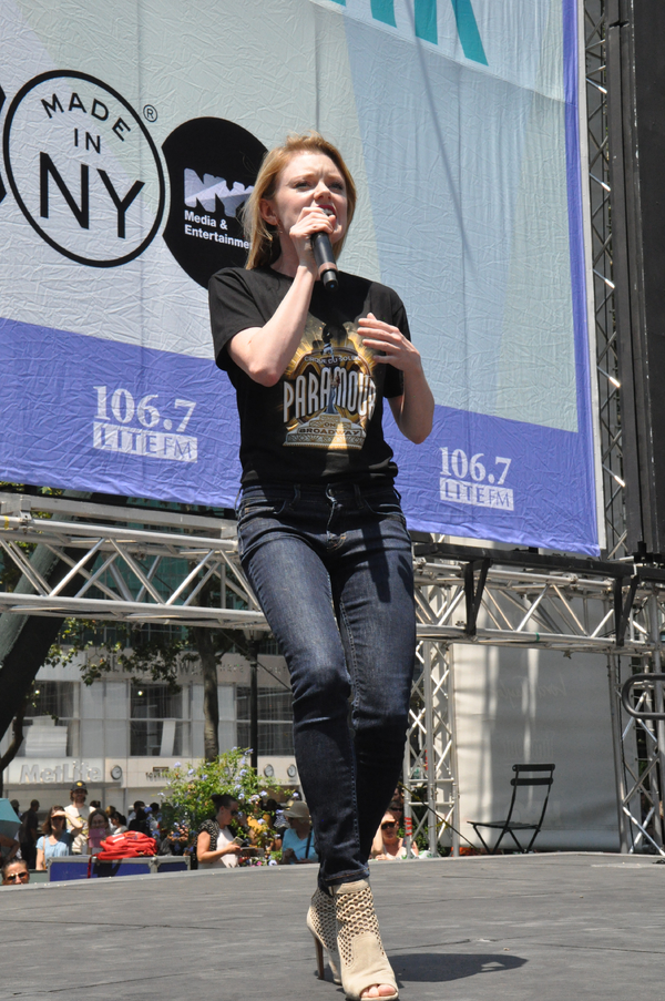 Photo Coverage: Casts of PARAMOUR, LES MIZ & More Bring it Home to Bryant Park