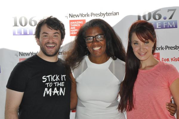 Alex Brightman, Helen Little and Sierra Boggess