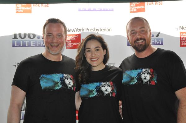 Hayden Tee, Alison Luff and John Own Jones