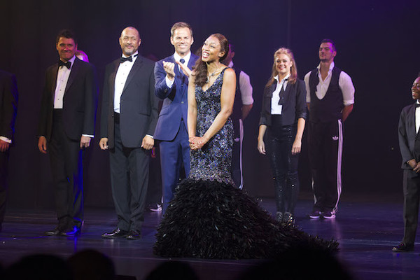 Ben Richards and Beverley Knight  Photo