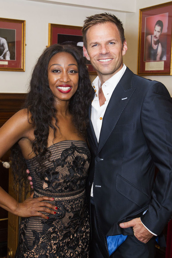 Beverley Knight and Ben Richards
