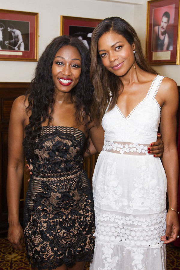 Beverley Knight and Naomie Harris