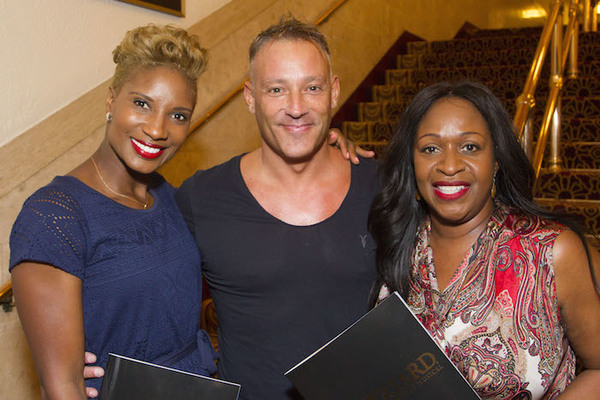 Denise Lewis, Toby Anstis and Angie Greaves Photo