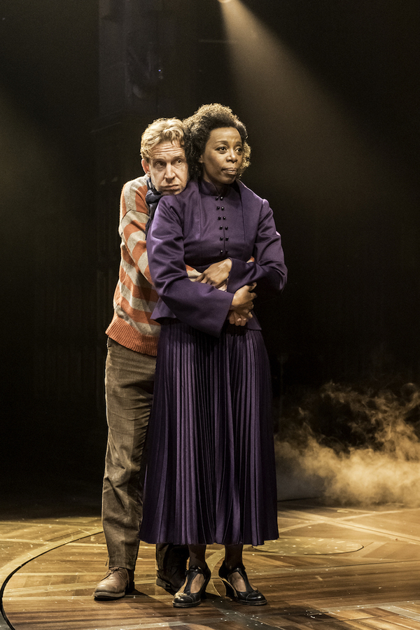 Paul Thornley (Ron Weasley) and Noma Dumezweni (Hermione Granger)