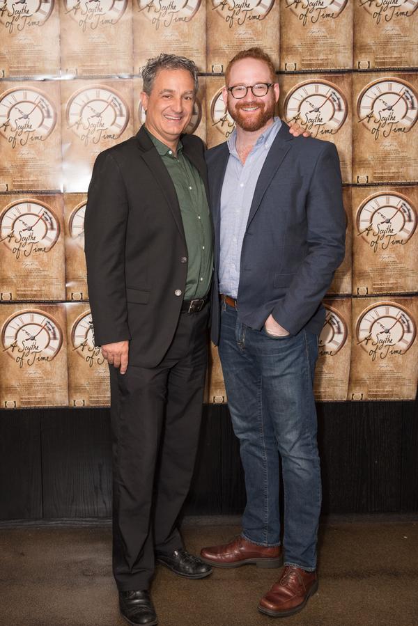 Composer Mark Swanson and  David Alpert Photo