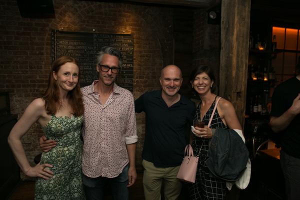 Megan Byrne, Quentin Mare, Christian Parker, Jeanne LaSala Taylor Photo