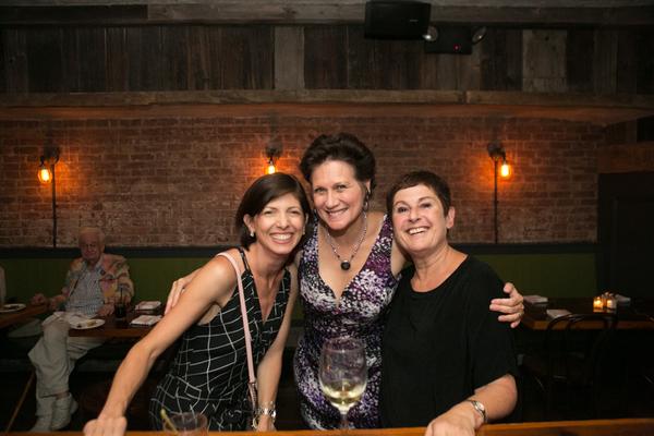 Jeanne LaSala Taylor, Valerie Leonard, Cheryl Faraone