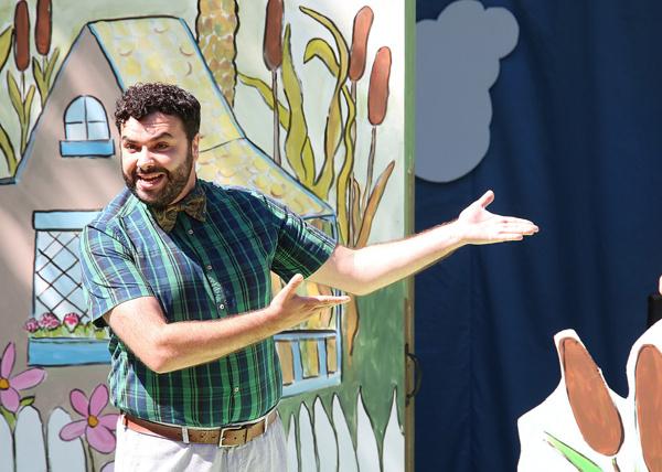 Anthony Teixeira as Frog. Photo