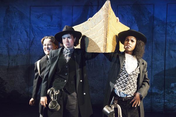 Birgit Huppuch, Hannah Cabell and Danaya Esperanza