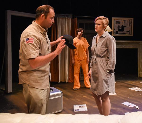 Leo Goodman (Bennie), Candice Oden (Arlie) and Erin Cronican (Arlene)