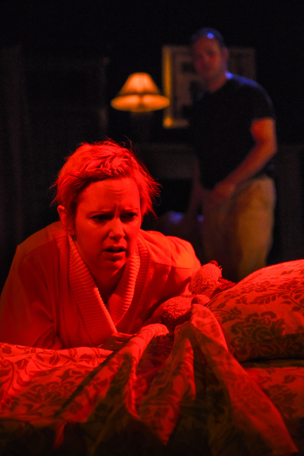 Photo Flash: PHOTO FLASH: Opening Night of GETTING OUT with The Seeing Place