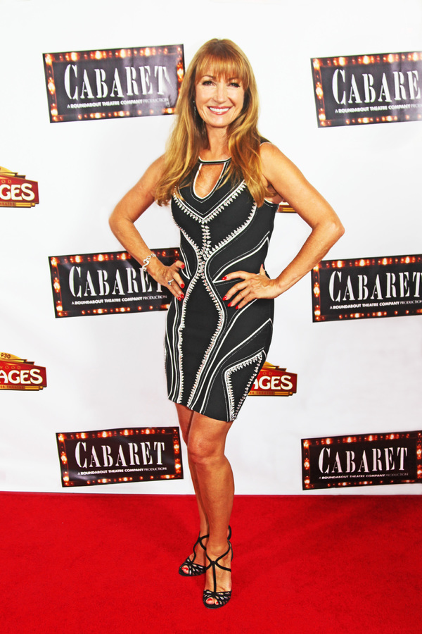 Photo Flash: Jane Seymour, Loretta Divine, Joey Fatone and More on the CABARET Red Carpet at the Pantages