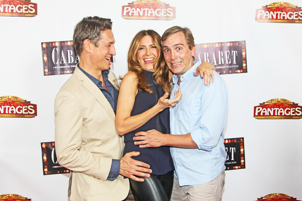 Robert Gant, Michelle Clunie & Scott Lowell