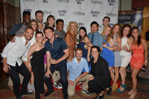 James Olmstead, Antoinette DiPietropolo, Kelli Gautreau with members of the cast-Darius Jordan Lee, Jennifer Seifter, Edward Miskie, Sean Hayden, Courtney Fekete, Avery Royal, Christopher Hlinka, Yurina Kutuskake, Jay Gamboa, Joey Dippel, Stephanie Israel