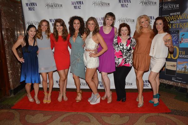 Yurina Kutsukake, Lydia Ruth Dawson, Hannah Slabaugh, Michelle Dawson, Jennifer Seift Photo