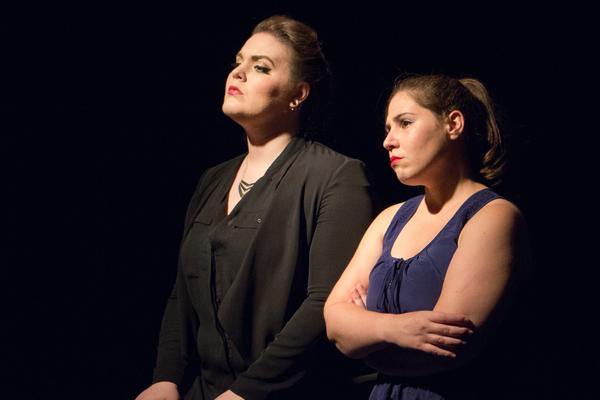 Neala Barron and Anna Schutz Photo