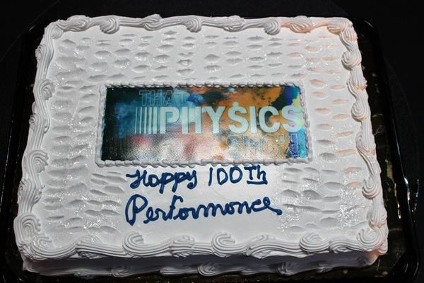 Photo Flash: THAT PHYSICS SHOW Celebrates 100th Performance Off-Broadway