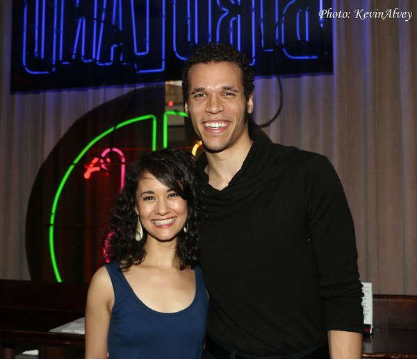 Ali Ewoldt and Jordan Donica