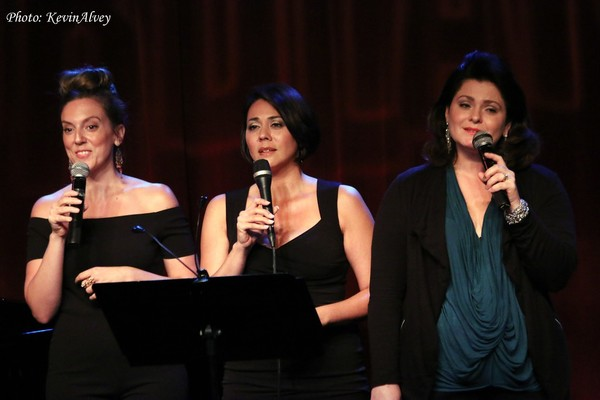 Photo Flash: PHANTOM OF THE OPERA's James Barbour and More Sing Sondheim for BC/EFA